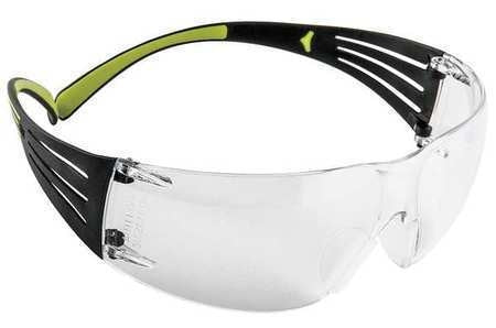 3M Safety SF401AF 400 Series SecureFit Protective Eyewear, Clear Anti-Fog Lens