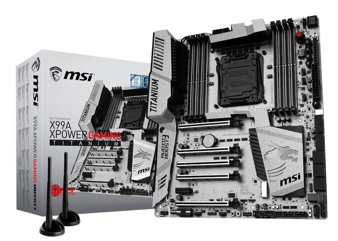 MSI Computer DIMM LGA 2011-3 Motherboards X99A XPOWER GAMING TITANIUM