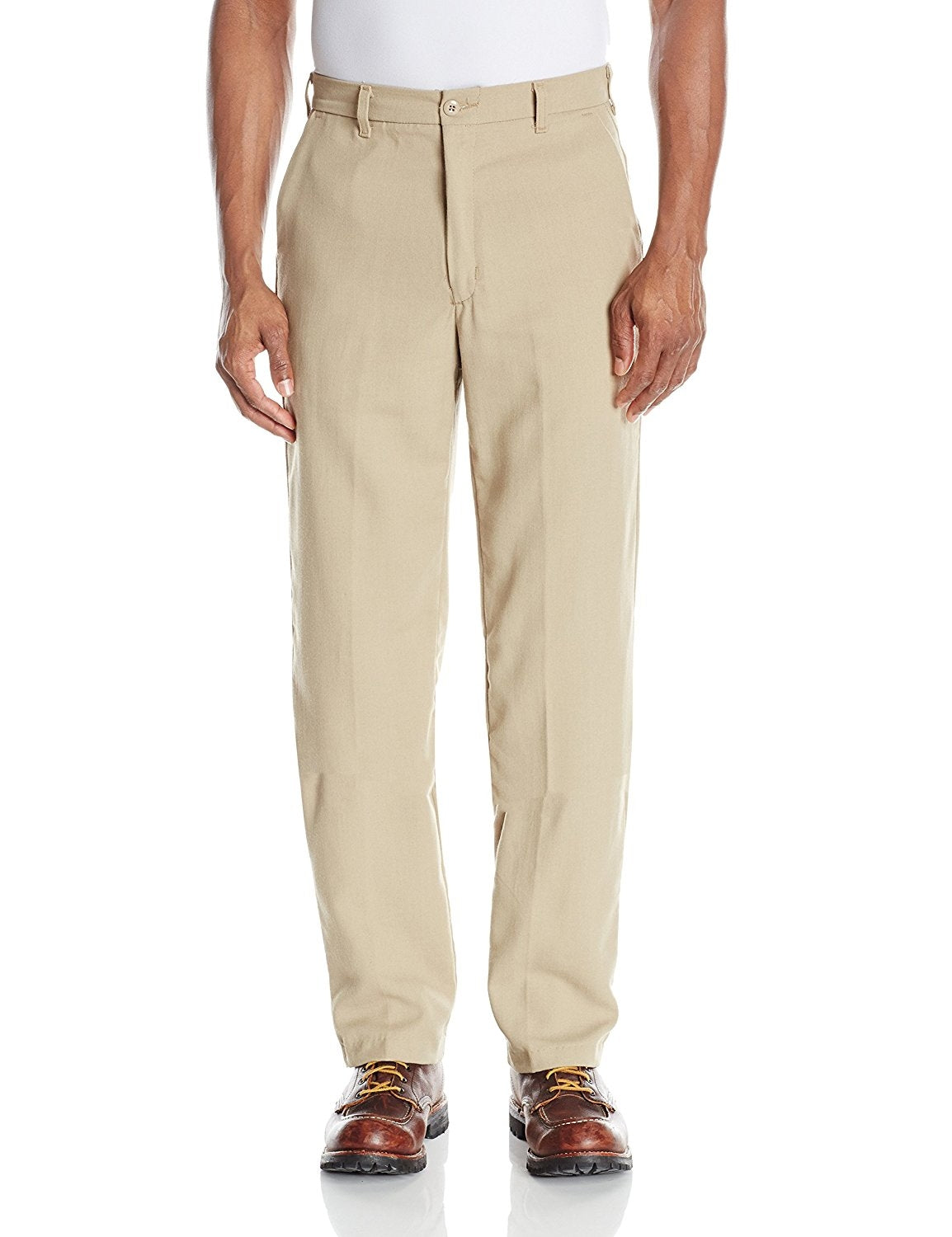 Bulwark Flame Resistant 5.8 oz CoolTouch Mens Work Pant with Button Closure