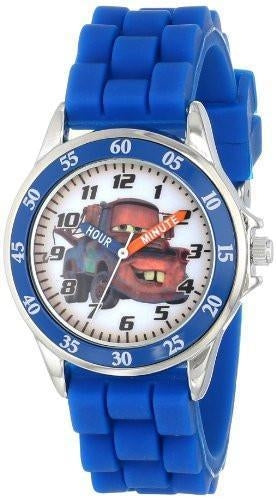 Disney Kids' Cars Mater CZ1010 Watch with Blue Rubber Band