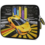 Amzer 10.5-Inch Designer Neoprene Sleeve Case Cover for Tablet, eBook, Netbook - Shinning Racer (AMZ5035105)
