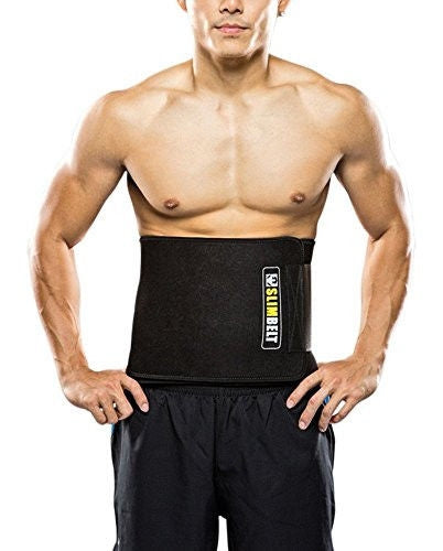 Slimbelt Weight Loss Belt (Waist Trimmer Belt Or Sweat Belt) Burn Your Fat Belly