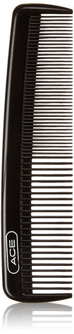 "Ace 61586 5"" Black Pocket & Purse Comb"