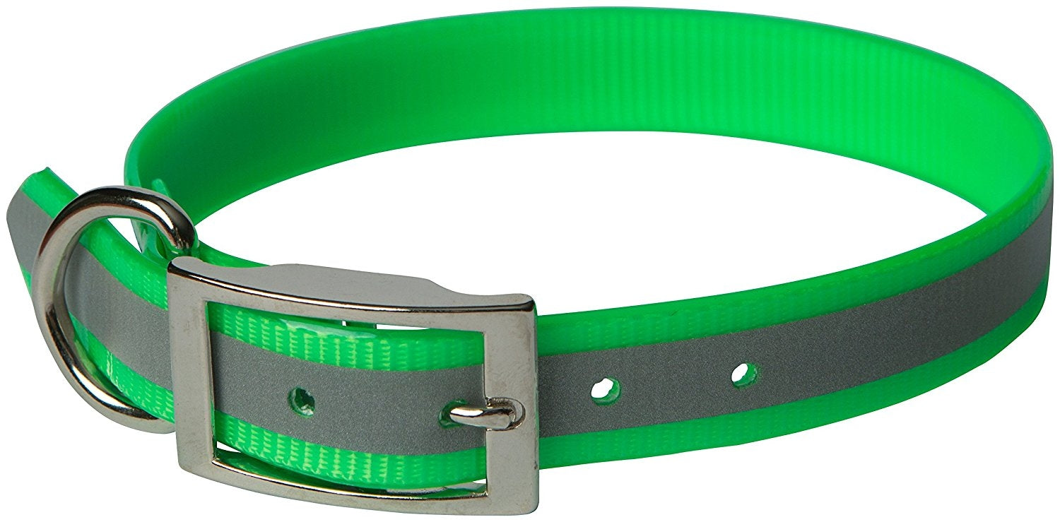 OmniPet Sunglo Reflective Regular Dog Collar