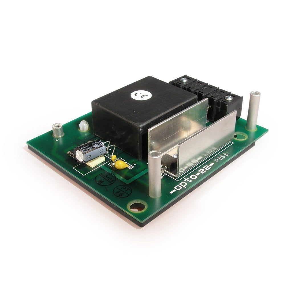 Opto 22 PBSB Mistic/Optomux Power Supply, 5 VDC Output Voltage, 220 VAC Input Range, 0.5 Amps Output Current