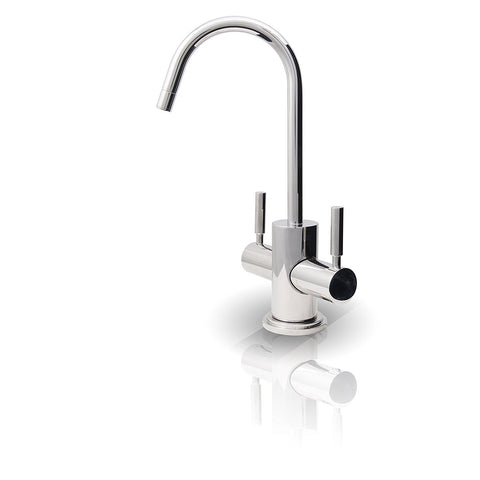 APEC Water Systems FAUCET-HC-WST-CM Instant Hot and Cold Reverse Osmosis Drinking Water Dispenser Faucet, Chrome