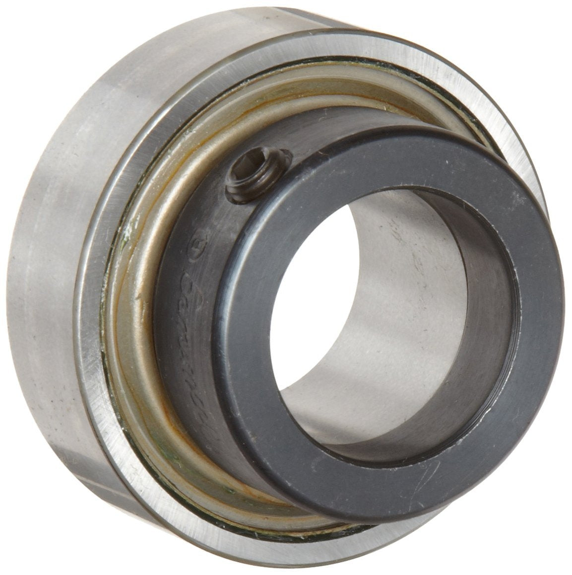 "Browning SLE-120 Wide Inner Ring Bearing, Eccentric Collar, Double Sealed, Normal Clearance, Steel Cage, 1-1/4"" Bore, 72 mm OD , 1-37/64"" Width"