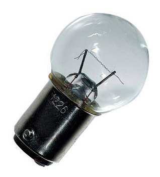 Ancor 521176 Marine Grade Electrical Light Bulb (Double Contact Bayonet Base, 12-Volt, 17.2-Watt, 1.34-Amp, Clear, 2-Pack)