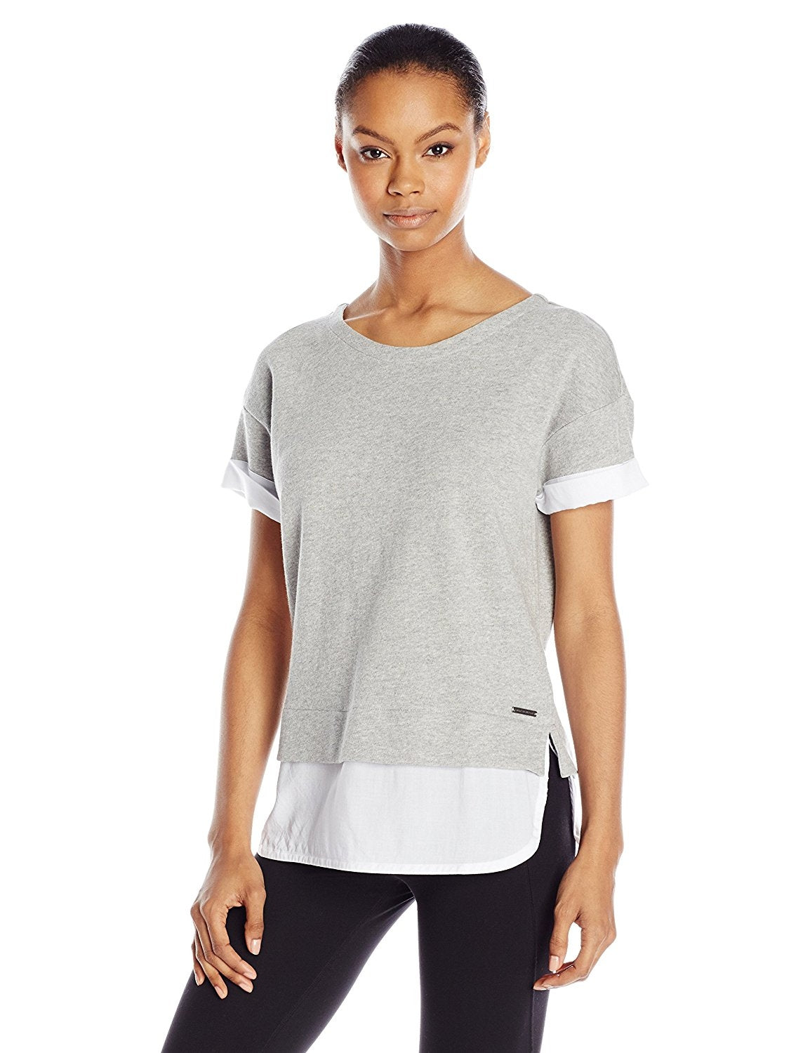Marc New York Performance Women's 2-fer Pullover
