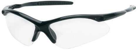 Liberty ProVizGard Surfer Protective Eyewear, Clear Anti-Fog Lens, Black Frame (Case of 12 Pairs)