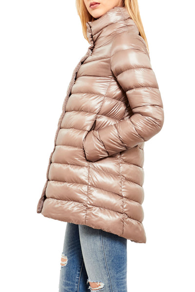 Classic High Low Puffer