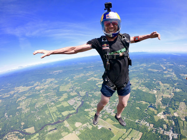 Recoup's Athlete Corner: Jeff Provenzano, Professional Skydiver and Base Jumper