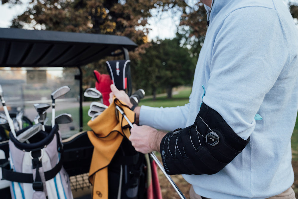 cold compression treatment for golfers elbow