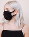 Black Face Masks: Two Pack