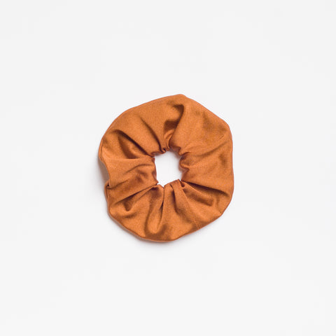 Toffee Shimmer Scrunchie