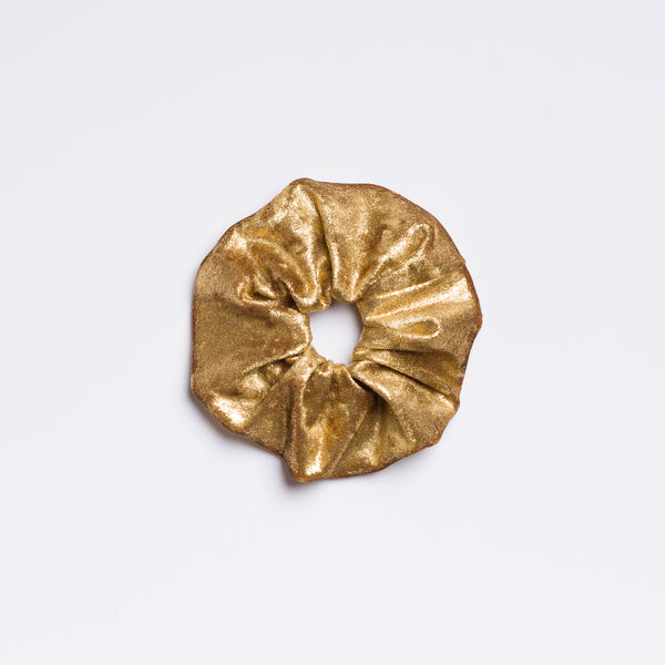 Golden Years Velvet Scrunchie