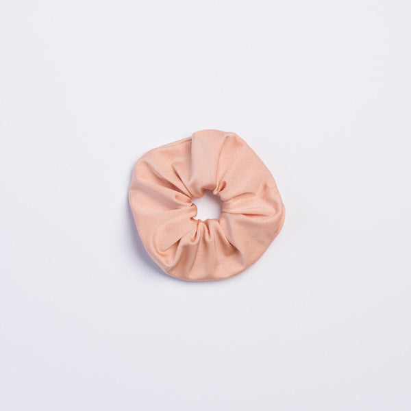 Peach Shimmer Scrunchie