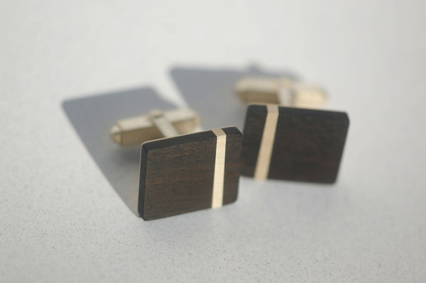 Handmade Strip cufflinks, only at Ed Vincent Jewellery - 1