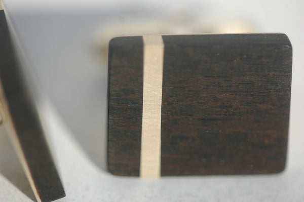 Handmade Strip cufflinks, only at Ed Vincent Jewellery - 2