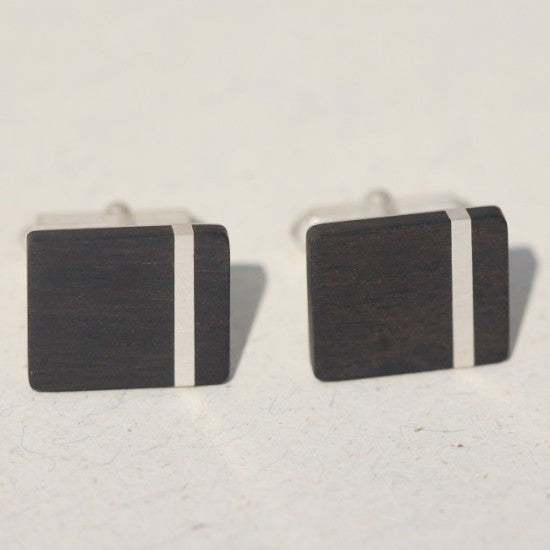 Handmade Strip cufflinks, only at Ed Vincent Jewellery - 3