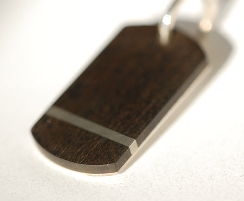 Handmade Strip Dog tag, only at Ed Vincent Jewellery - 1
