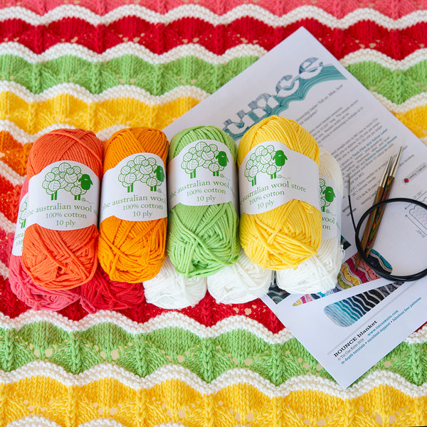 Cotton blanket kits
