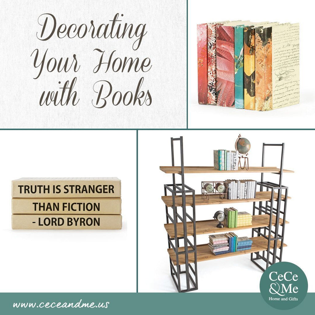 Decorating Your Home with Books 📚