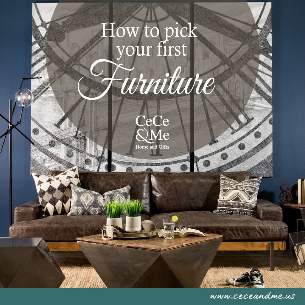 How To Pick Your First Furniture