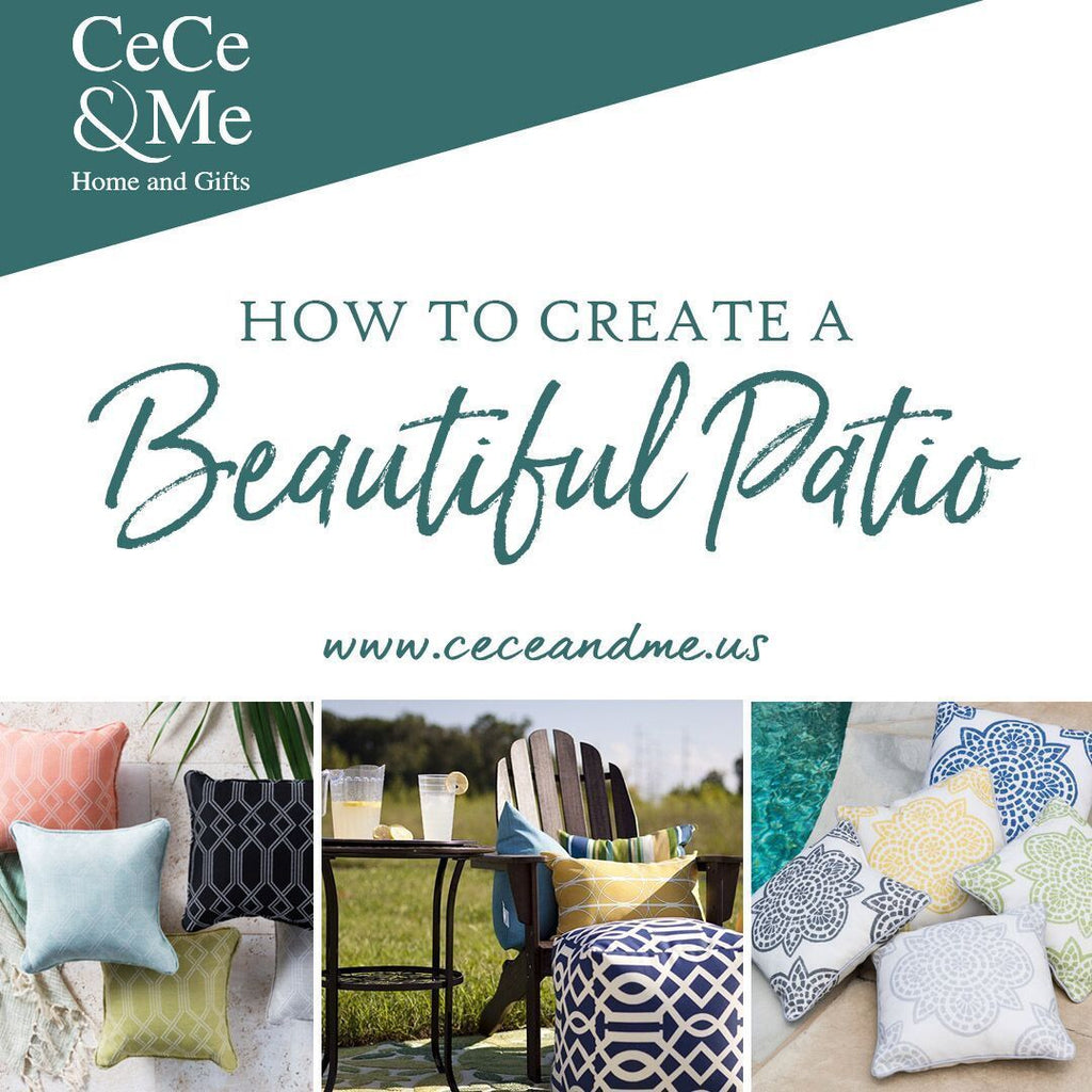 How to Create a Beautiful Patio 🌞