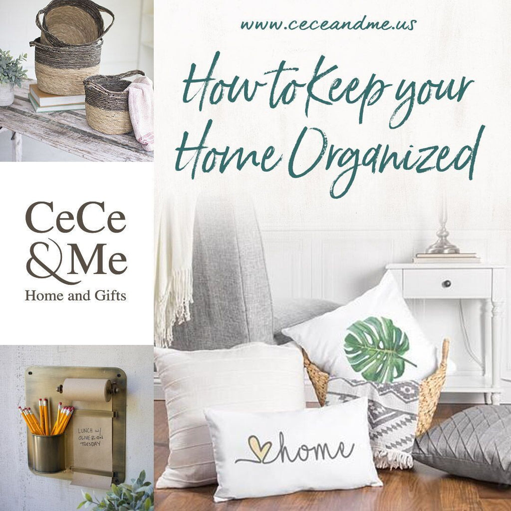 How to Keep your Home Organized