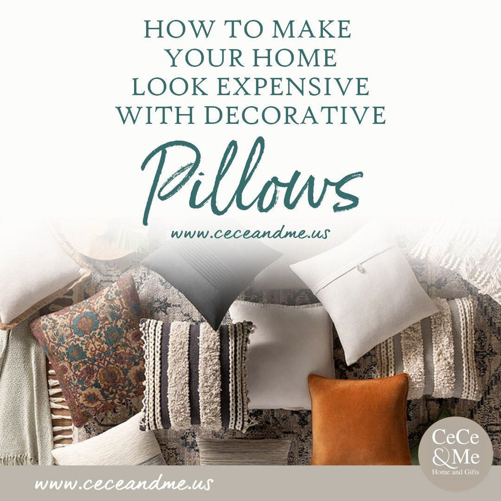 How to Make Your Home Look Expensive With Decorative Pillows