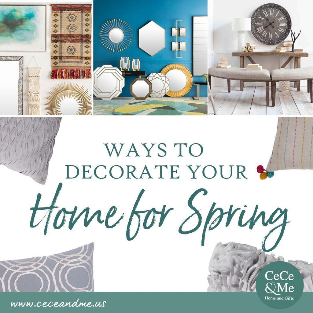 Ways to Decorate Your Home for Spring 🌷🌿