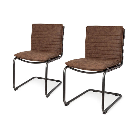 Image of Doyle II Dining Chairs (Set of 2) - Cece & Me - Home and Gifts