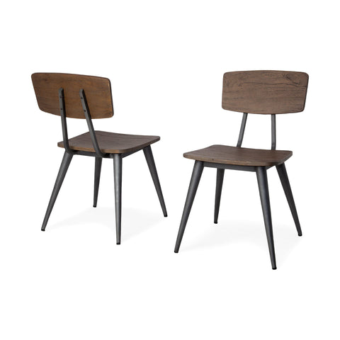 Image of Duke Dining Chair I (Set of 2) - Cece & Me - Home and Gifts