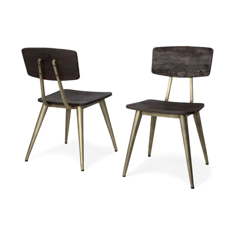 Image of Duke Dining Chair II (Set of 2) - Cece & Me - Home and Gifts