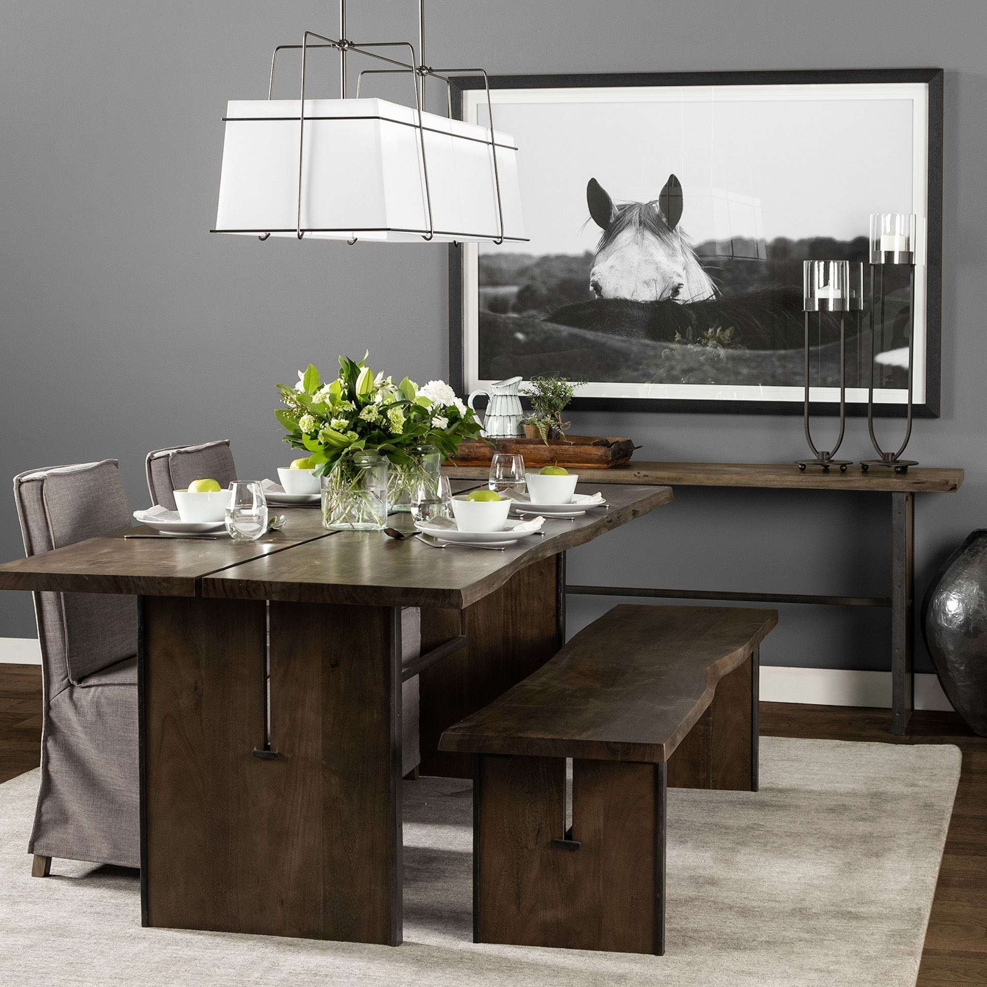 Ledger Dining Set - Cece & Me - Home and Gifts