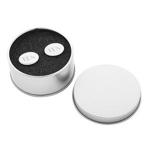 Silver Oval Cuff Links - Cece & Me - Home and Gifts