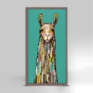 Llama ~ Giclee Canvas - Cece & Me - Home and Gifts