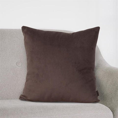 Velvet Bella Pillow ~ Chocolate