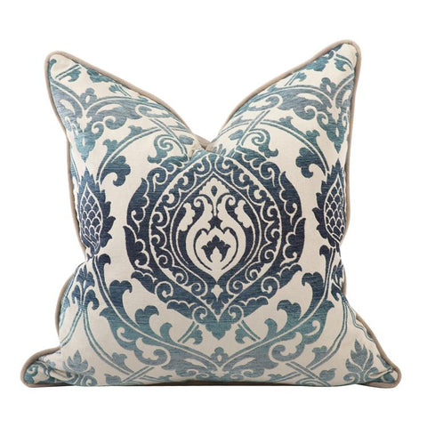 New Damask ~ Indigo