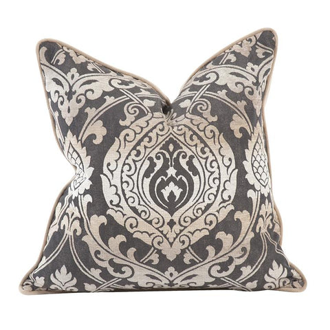 Image of New Damask ~ Pewter