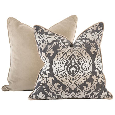 New Damask ~ Pewter