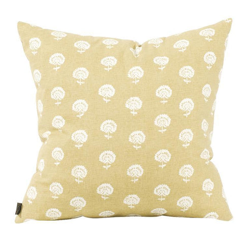 Image of Dandelion Citron Pillow ~ Mustard - Cece & Me - Home and Gifts