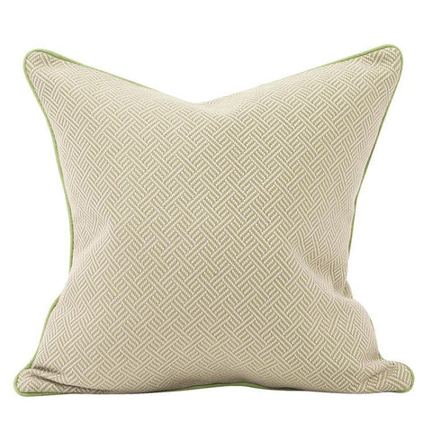 Beach Club Ocean Pillow ~ Green - Cece & Me - Home and Gifts