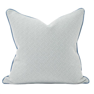 Beach Club Ocean Pillow ~ Blue - Cece & Me - Home and Gifts