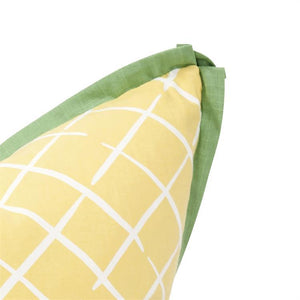 Cove End Daffodil Pillow ~ Green & Yellow - Cece & Me - Home and Gifts
