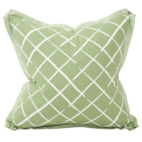 Image of Cove End Daffodil Pillow ~ Green & Green - Cece & Me - Home and Gifts