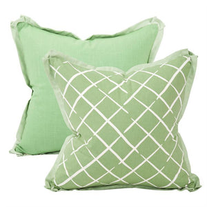 Cove End Daffodil Pillow ~ Green & Green - Cece & Me - Home and Gifts