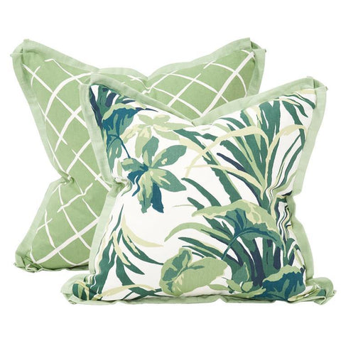 Bermuda Bay Daffodil Pillow ~ Green & Green - Cece & Me - Home and Gifts