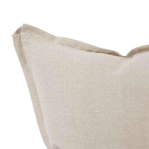 Linen Slub Pillow ~ Natural